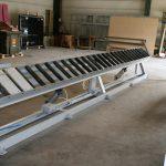 Table escamotable (longueur 6m)