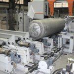 Ligne de production pour des ronds en alu. Diamètre maxi. 1080mm